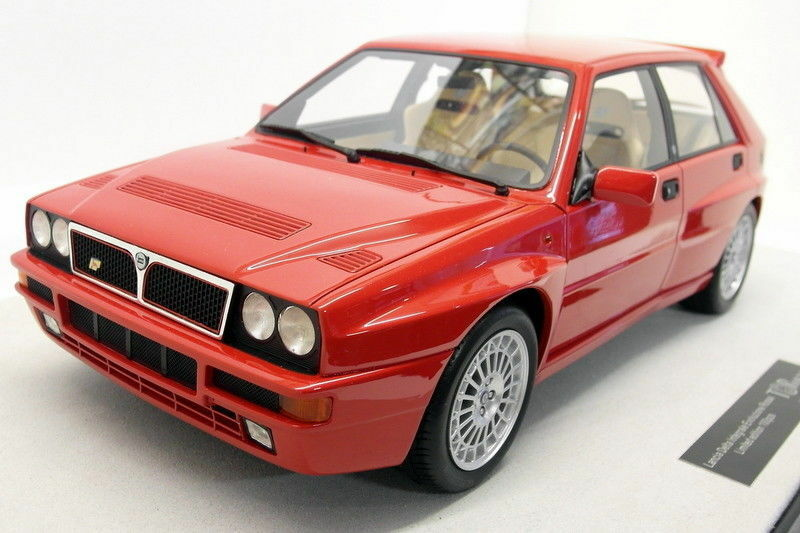 Top Marques 1 12 Scale Resin TOP1201C Lancia Delta Integrale Evolution Red 500PC
