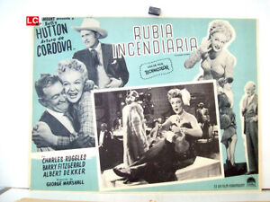 Incendiary-Blonde-BETTY-HUTTON-1945-OPTIONAL-SET-MEXICAN