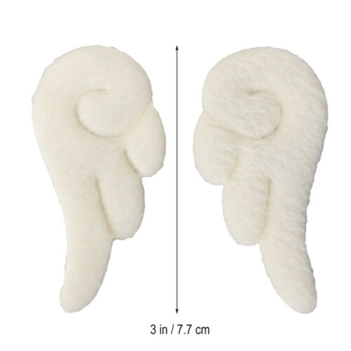 1 Pair Angel Wings Hairpins Cartoon Plush Hair Clips Clamps Barrettes Bobby Pin