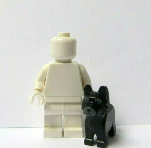 Lego 1 X Negro Gato Perro Minifigura no incluido Mascota Cachorro Terrier escocés