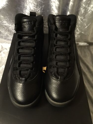 8 Retro ovo Jordan Nike Negro Tamaño 10 5 6wwqXA