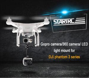 STARTRC-GoPro-Camera-Holder-Mount-Led-light-Bracket-Kit-for-DJI-Drone-Phantom-3
