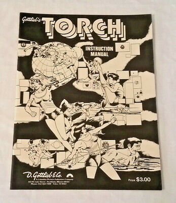 Gottlieb Totem Pinball Machine Original Manual NOS Free Shipping New!