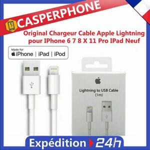 Original-Chargeur-Cable-Apple-Lightning-pour-IPhone-6-7-8-X-11-Pro-IPad-Neuf
