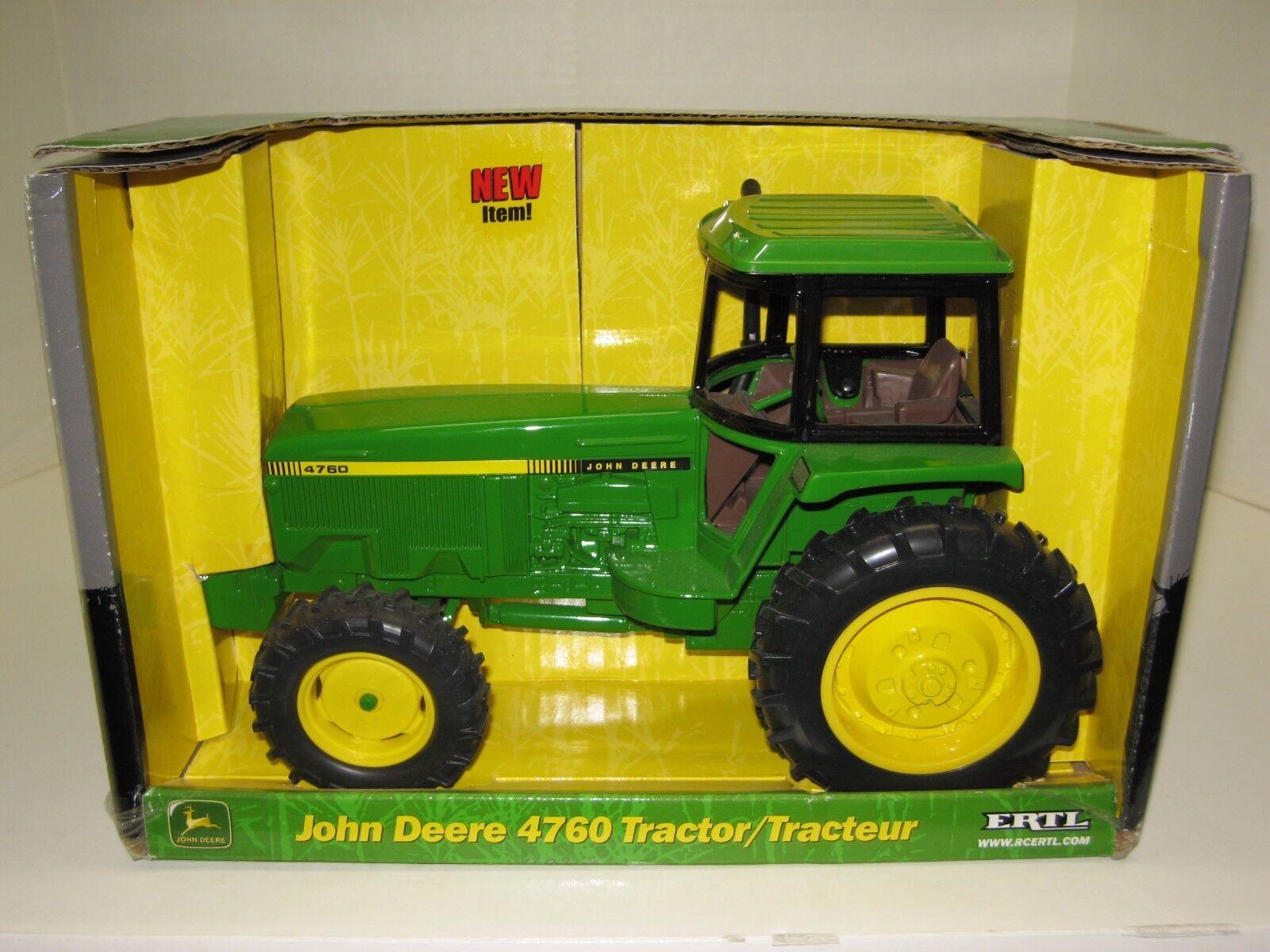 1 16 JOHN DEERE 4760 MFWD NIB free shipping