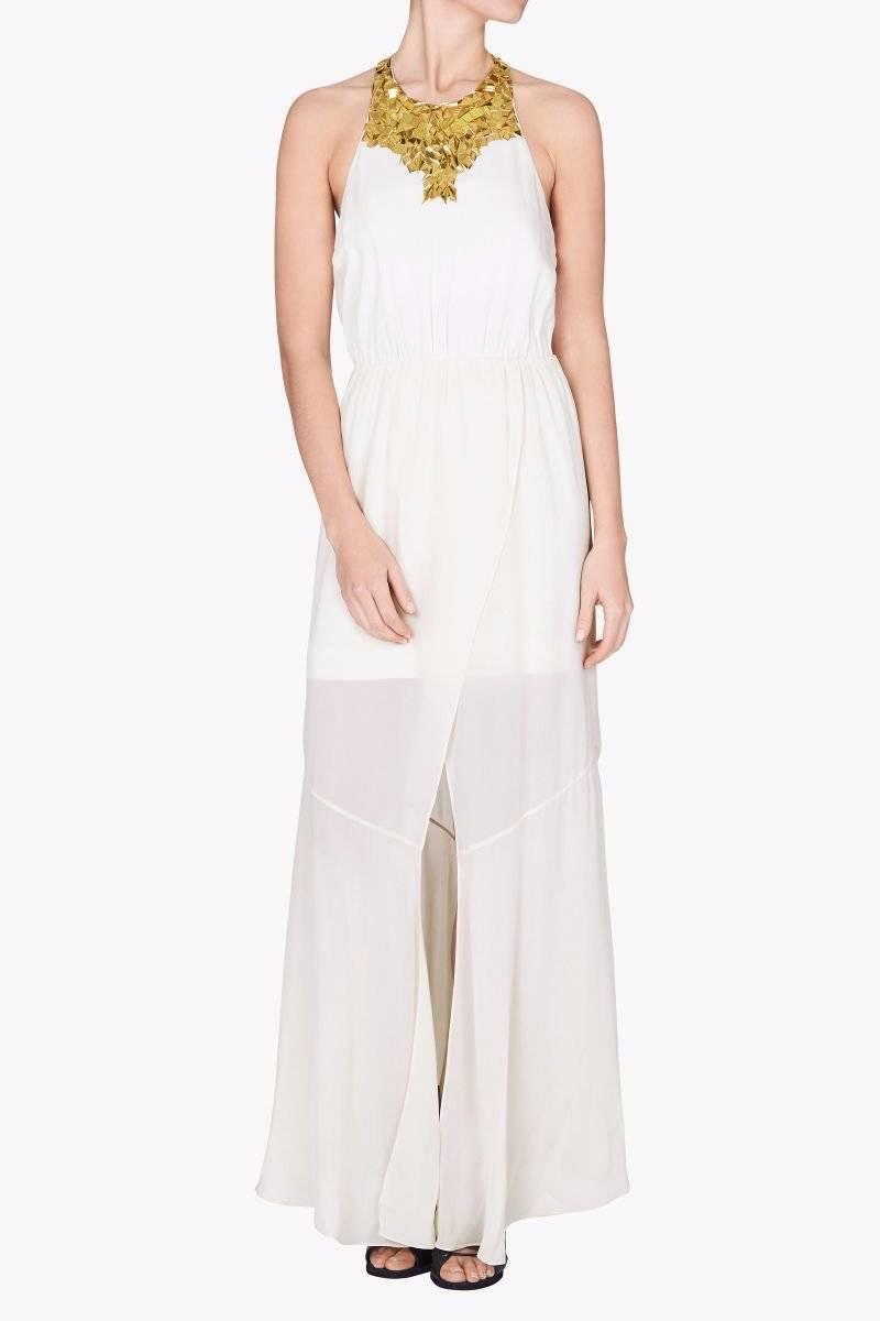 NWT SASS & BIDE  Verse of Nature   Embellished Formal Wedding Dress - Sz 8   990