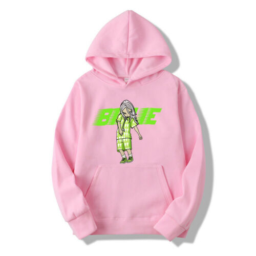 Unisex Billie Eilish Hoodie Hoody Jumper Rapper Hip Hop Sweatshirt Pullover Tops