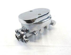GM Universal Aluminum Brake Master Cylinder 1-1//8/'/' Chrome SMOOTH TOP