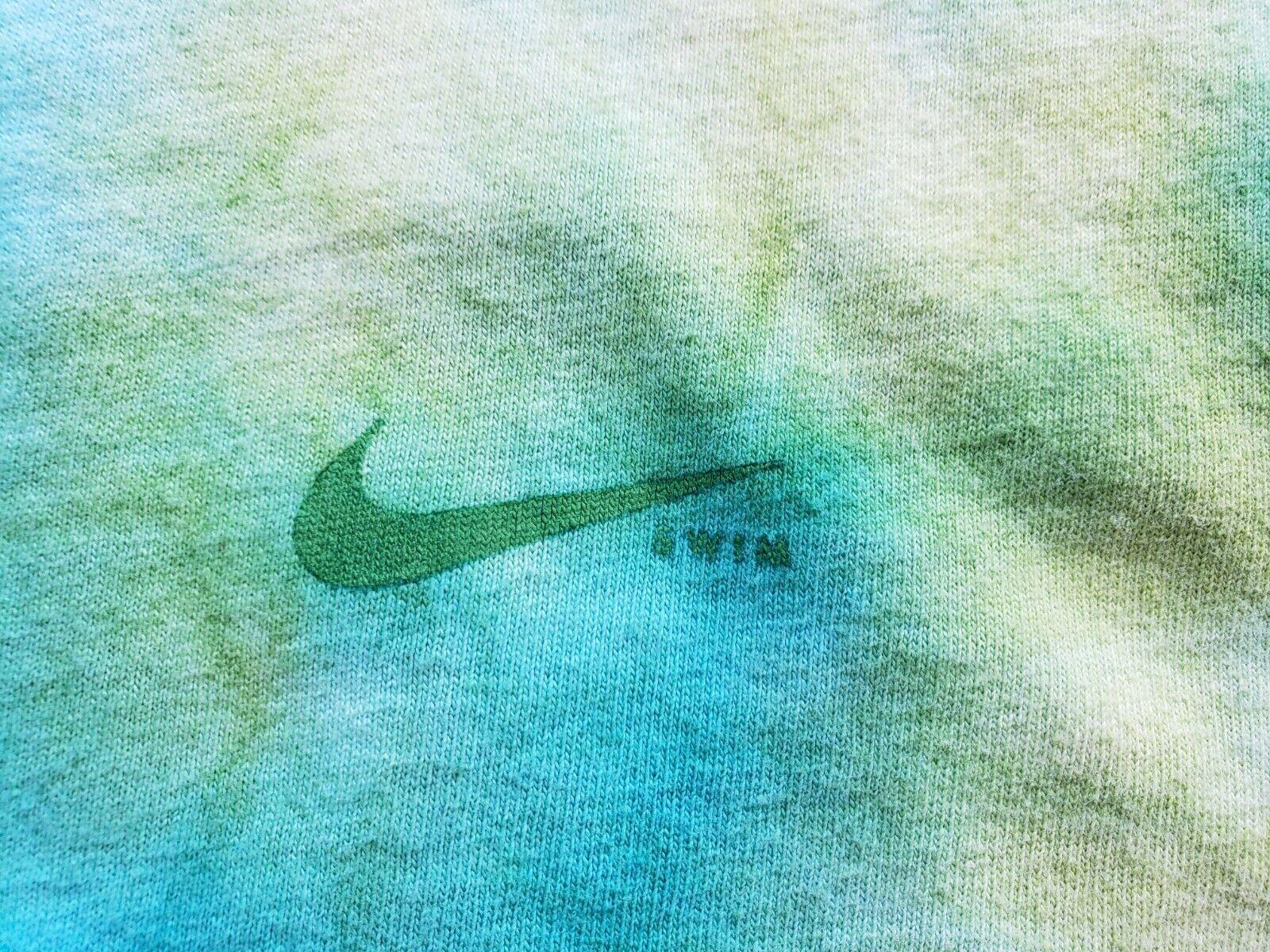Vintage 90's Y2K Nike Swim Tie Dye AOP T Shirt Si… - image 4