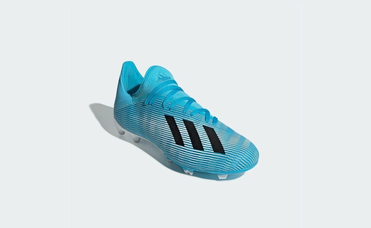 ADIDAS Sautope da calcio uomo x19.3 FG (f35383) in in in blu-bianco-nero d24