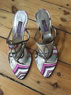 EMILIO PUCCI Sandals Made In  EU 38,5  535 535 535 ccfd95