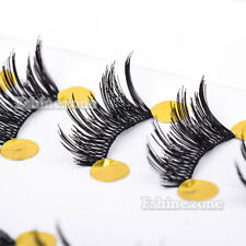 10 Pairs Makeup Half Winged False Eyelashes Corner Lashes Accent Mini Extension