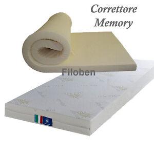 Scaldasonno Su Materasso Memory.Details Sur Correttore X Materasso Memory Singolo 80x190 Top 5 Cm