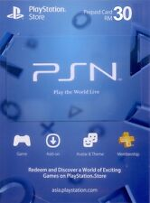Playstation Network Prepaid Code RM30