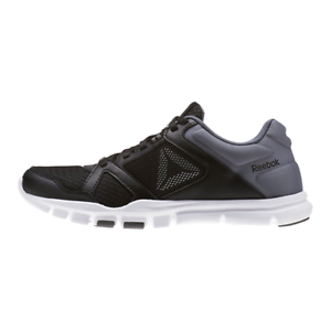 68ab45093 Image is loading New-Womens-Reebok-Yourflex-Trainette-10MT-BLACK-WHITE-