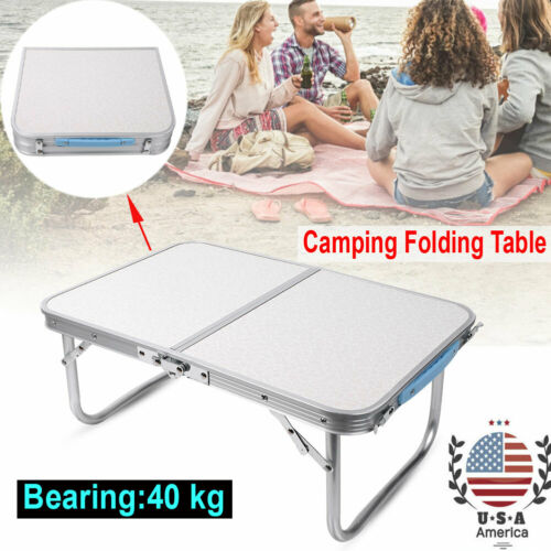 Portable Folding Aluminum Table Lightweight for Outdoor Camping Picnic BBQ USA