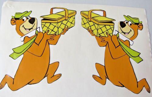 Extérieur Vinyle Yogi Bear Stickers Voiture Autocollants Graphique X 2 mains