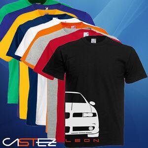 Camiseta-coche-german-basado-seat-leon-mk1-fr-cupra-ENVIO-24-48h