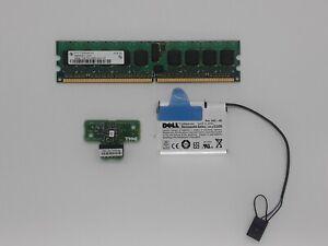 Dell-Poweredge-Server-1850-2800-2850-Raid-Key-Battery-RAM-Kit-H1813-Overnight-OK
