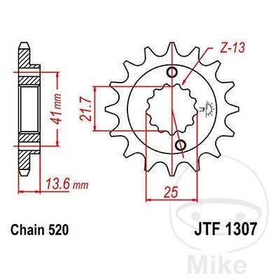 Front Sprocket JTF1307 14t fits Honda XR650 R 00-07 JT