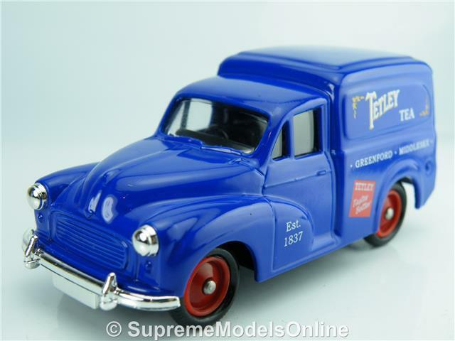 TETLEY TEA MORRIS MINOR VAN MODEL CAR 1 43RD SCALE LLEDO PROMO ISSUE K8967Q