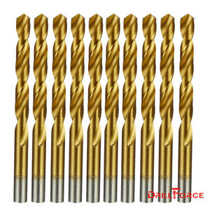 20pcs HSS Titanium Coated Metal High Speed Steel Cobalt Drill Saw Bit Set WO