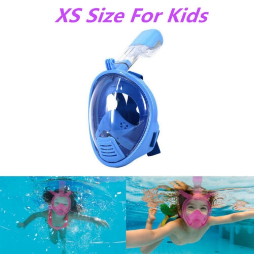 20118 Scuba Diving Mask Full Face Snorkel Kids Child Anti Fog Swimming Training