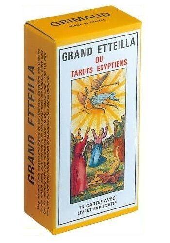 Grand Etteilla ou Tarojos Egyptiens - GRIMAUD Neuf  (Egyptian Gypsies Tarojo)