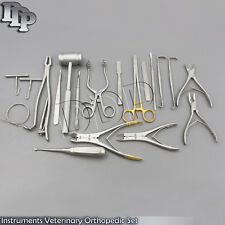 20 Instruments Veterinary Orthopedic Pack Surgical