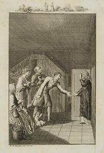 Chodowiecki (1726-1801). zia anfurth intrawede la fortuna familiare; pressione grafico