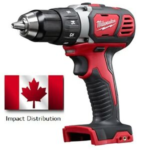 "Milwaukee 2606-20 M18 Compact Cordless 1/2"" Drill Driver (Bare Tool Only) NEW"