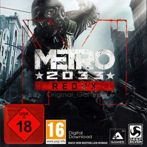 Details about Metro 2033 Redux Steam Key Region Free Download code Worldwide
