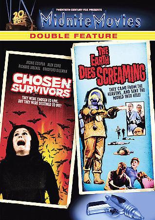 1 of 1 - Chosen Survivors / The Earth Dies Screaming (D New DVD