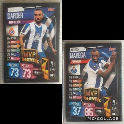 Topps Match Attax EXTRA Ligue des Champions 2019//2020-3 x Mini Tin Mega Tin