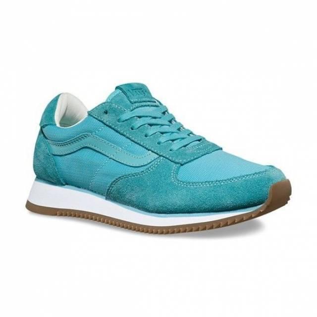 Vans Vans Vans Off the Wall Runner Aqua Sea blu scarpe Uomo 7 donna 8.5 NEW d0eddf