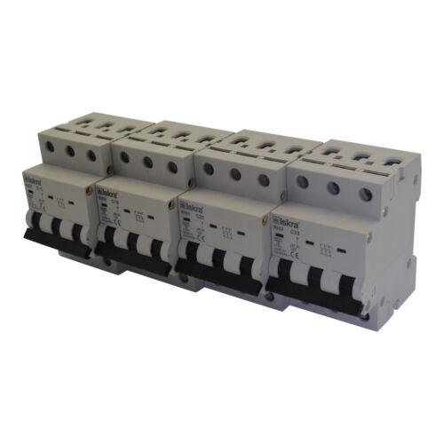 Backup sportello automatico linea disgiuntore MCB 25a tipo B 3 pin 6ka 10 pezzo