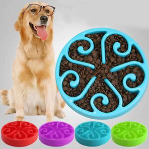Pet-Bowl-Dog-Cats-Interactive-Slow-Food-Feeder-Healthy-Gulp-Feeds-Dish-Large-UK