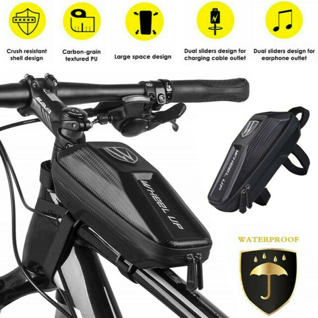 Bicycle Front Frame Top Tube Bag Mountain Bike Waterproof Cycling Seat Pouch For Sale Online Ebay