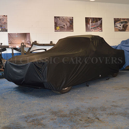Luxury Satin with Fleece Lining Indoor Car Cover for Triumph TR4-6