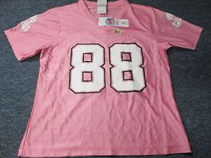 size 40 cb2d6 41c5c Details about WOMEN'S NFL TEAM APPAREL NEW ORLEANS SAINTS JEREMY SHOCKEY  PINK DAZZLE JERSEY M