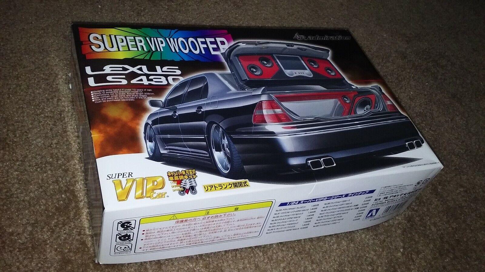 1   24 súper vip auto Series sp12 Lexus ls460 soprano kits