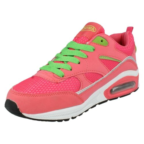 Mesdames Legacy lacets bout rond Casual Running Sports Baskets Chaussures Air Tech