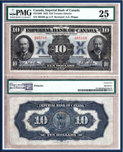 NO-RESERVE-AUCTION-1923-10-Imperial-Bank-of-Canada-in-PMG-VF25