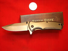 ROUGH RIDER A/O SPEED ASSIST FRAMELOCK HUNTING KNIFE TI COATED     F41449