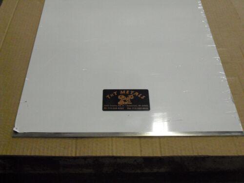 "1//8/"" Aluminum 12/"" x 96/"" Sheet Plate 5052 Vinyl PVC Coating one side"