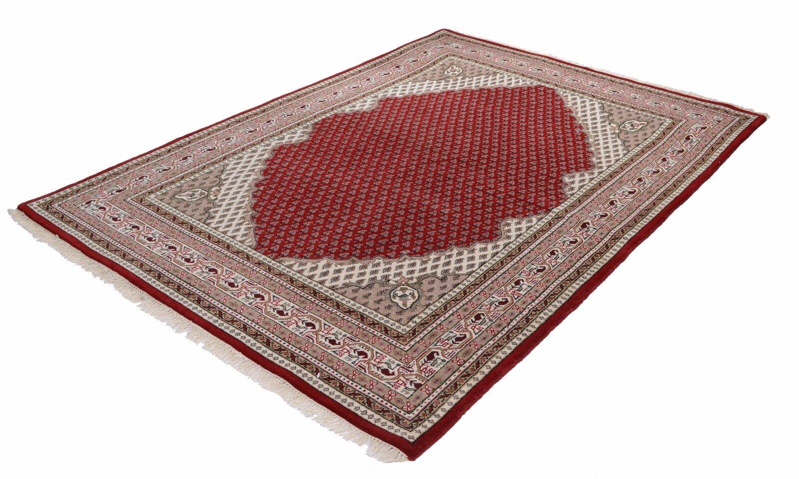 Indo mi SAROUGH Gopala tappeto tappeto tappeto orientale, intessuti a mano, 100% LANA VERGINE Rosso Nuovo a43c5f