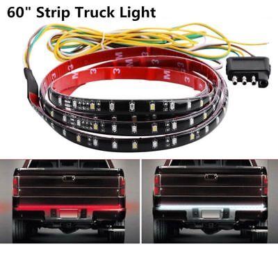 "60/"" Tailgate LED Strip Bar Truck Reverse Brake Turn Signal Tail Light Universal"