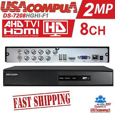 HIKVISION DVR-7216HGHI-F1// 16CH+2IP TVI//AHD//IP 1080P H264+//1080P lite NO HDD