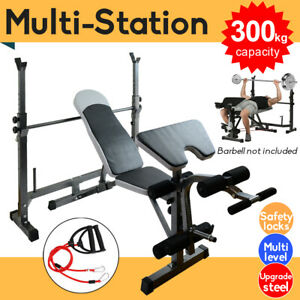 multistation weight bench press fitness weights equipment
