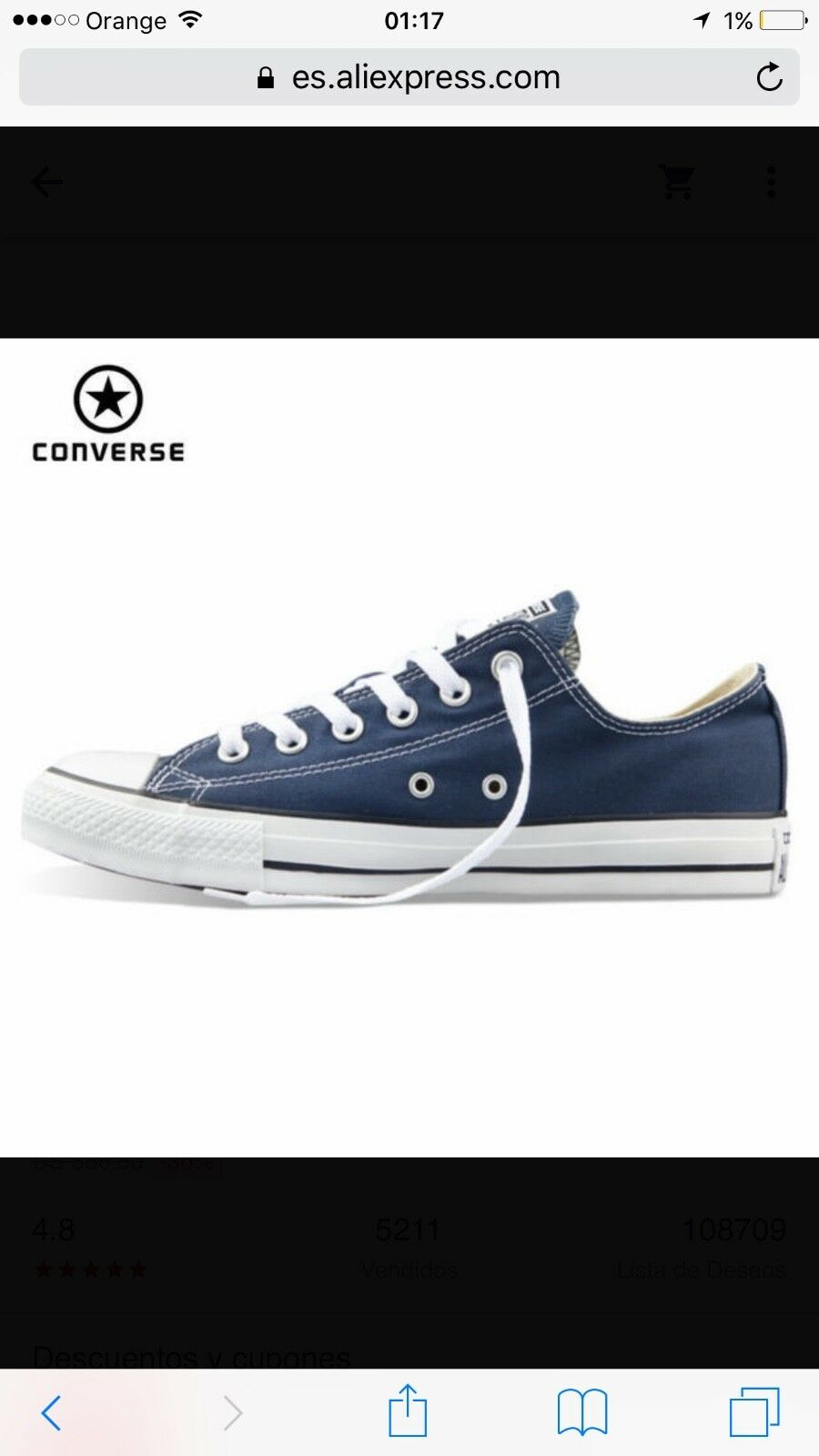 New unisex original converse converse converse all stars, all sizes, all colours a2c276